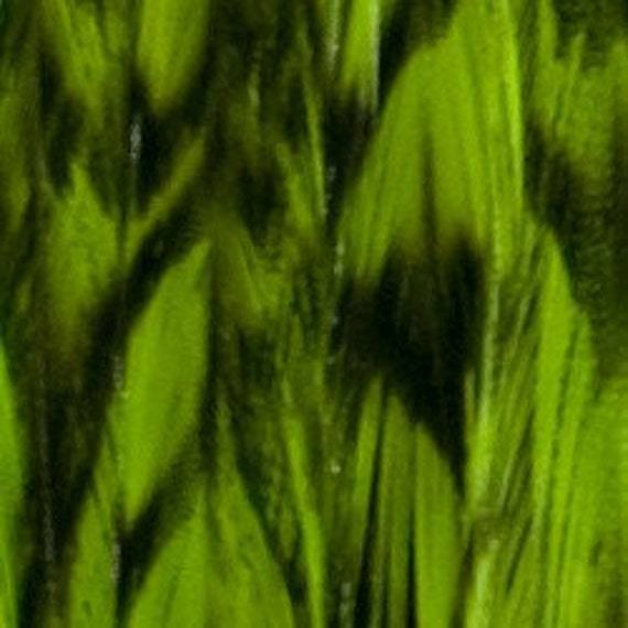 Feather Flair Extensions (Grizzly Chartreuse)