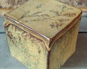 Ceramic box, decorative box, keepsake box, canister - hand built - puzzle box