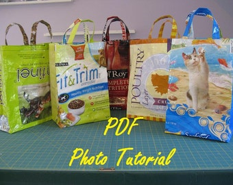 Dog Food and Grain Bag - PDF Photo Tutorial/ Pattern - No. 4