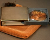Vintage Gorham & Co Pocket Magnifying Glass Silver