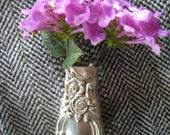 Vintage Pin Vase Made Out of Vintage Knife Handle
