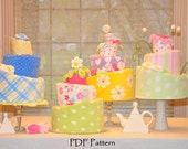 Topsy Turvy Diaper Cake Pattern and Instructional Video