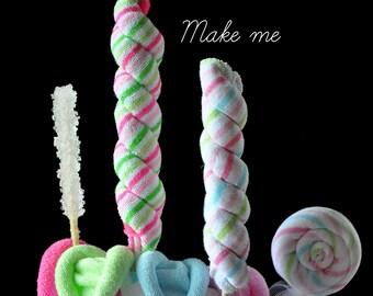 Baby Washcloth Lollipop, WashAgami ™ - How To Video