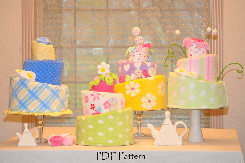 Topsy Turvy Diaper Cake Pattern