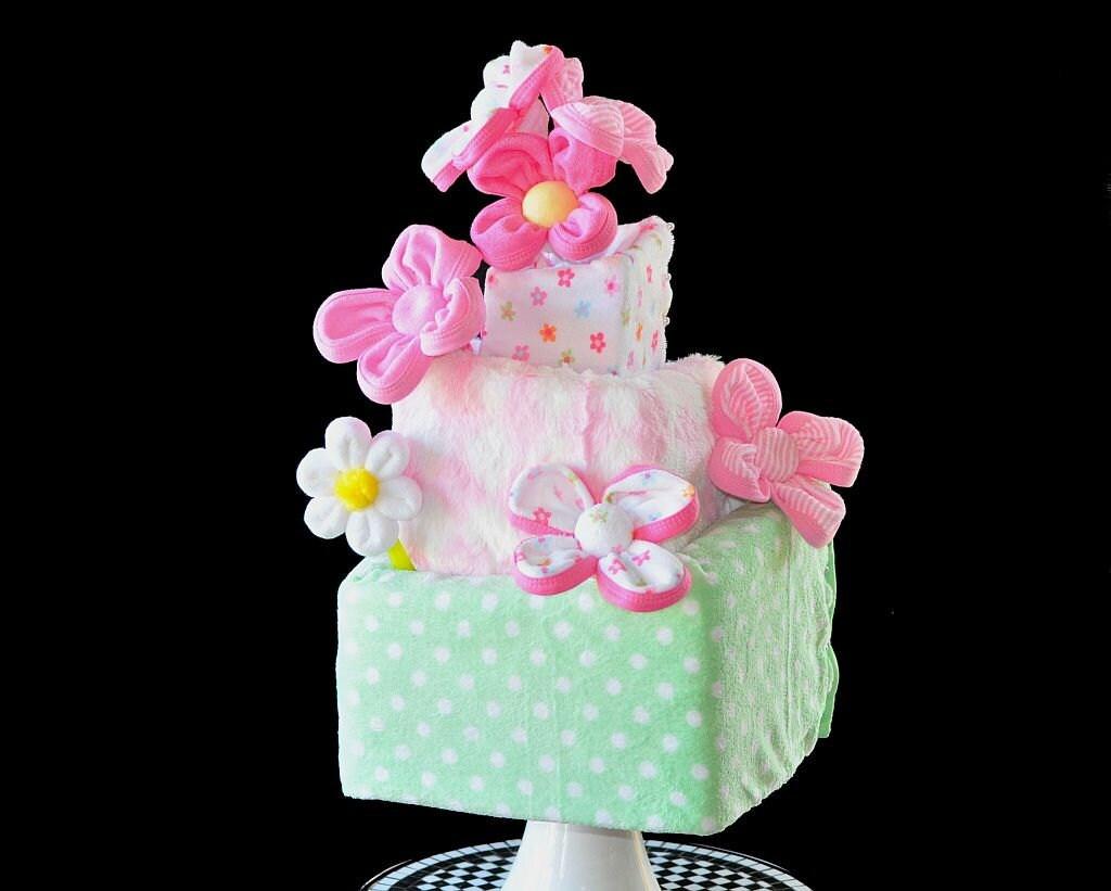 Baby Washcloth Flowers Washagami By Topsyturvydiapercake
