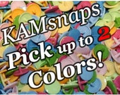 100 KAM Plastic Resin Snaps (pick up to 2 colors-100 COLORS AVAILABLE) Size 20 Buttons for Bumgenius Cloth Diaper Conversion Pliers  16 14