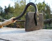 Hand forged garden Hoe