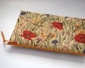 MacBook Air 11 case sleeve red poppies flowers tapestry POPPY