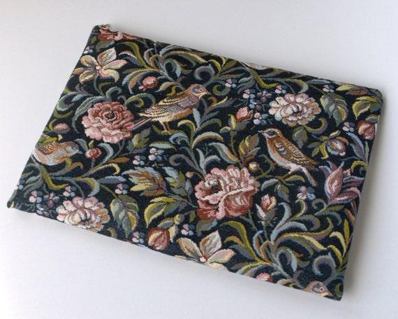 MacBook 13 Air case sleeve cover tapestry fabric BIRDS handmade by SleeWay