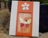 Aid for Abby - Framed Papercrafting Art by Child with Multiple Disabilities