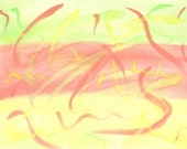 Aid for Abby - Original Painting by Child with Autism, Language Disorder and OCD - 16b