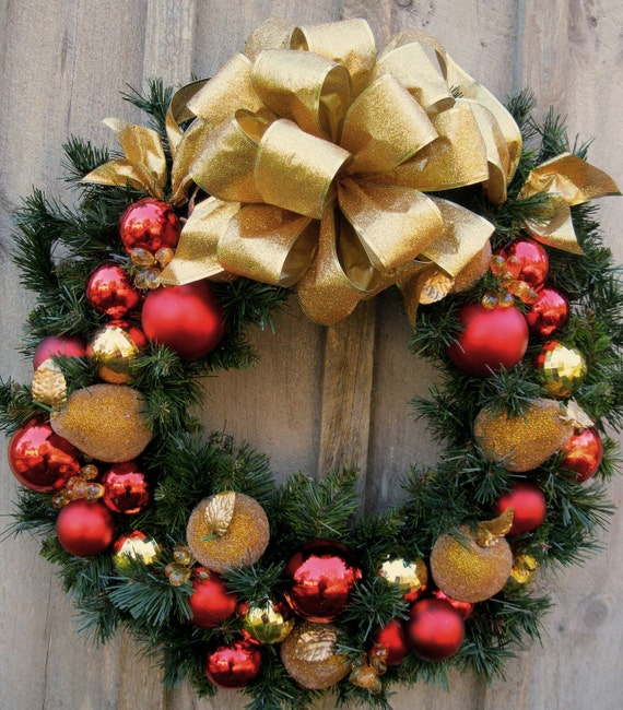 Sale Wreath Christmas Wreaths Holiday Door Wreath Jeweled