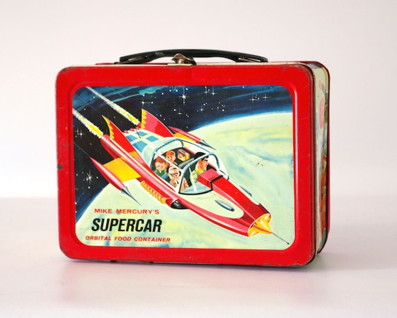 Supercar Lunch Box 1960s Gerry Anderson Tv Show
