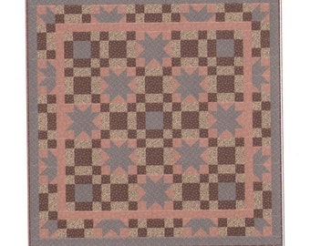 Quilt Pattern - Stars Over The Valley