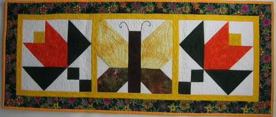 Quilt Pattern - Spring Garden Table Runner