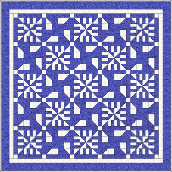 PDF Download - Quilt Pattern - Irish Winds