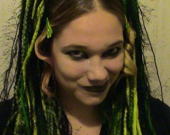Rave Hair Flair - Great for festive outings: Choose your own style and color scheme