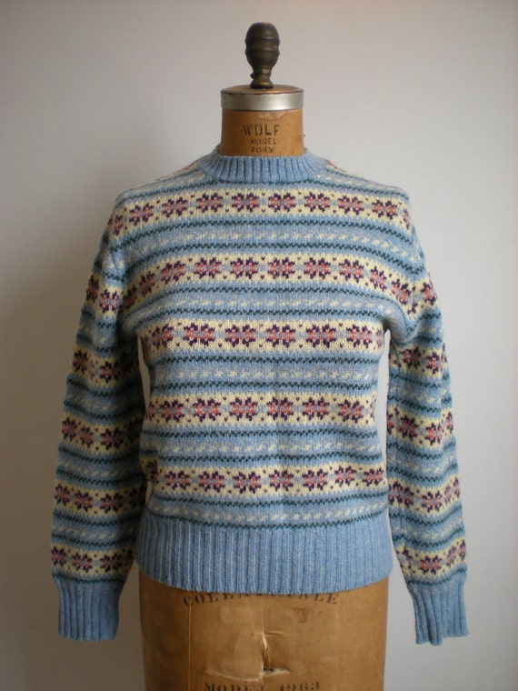 Lord & Taylor Wool Sweater - M