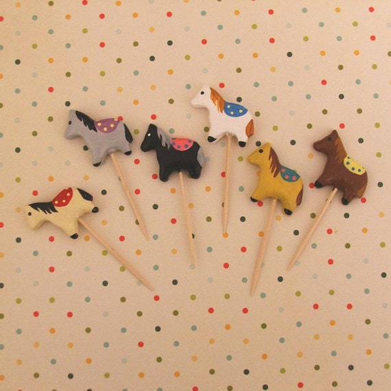 Horse/Pony Cupcake Toppers