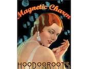 Magnetic Charm Oil - Hoodoo Oil - Ritual Oil - Anointing Oil - Hoodoo Roots - Hoodoo Voodoo, Candle Dressing - Natural Perfumery - Botanical