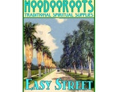 Easy Street Oil - Easy Life Oil, Hoodoo Oil, Ritual OIl, Anointing Oil, Conjure Oil,Luck Oil, Attraction Oil, Happy-go-Lucky, Essential Oils