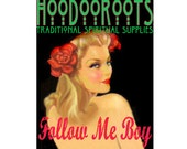 Follow Me Boy Oil - Hoodoo Oil - Ritual Oil - Anointing Oil - Spiritual OIl - Hoodoo Voodoo - Fragrant All Natural - Organic Botanical Oil