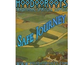 Safe Journey Oil - Travel Protection, Hoodoo, Conjure, Anointing, Altar, Voodoo,Pagan,Wicca, Folk Magic, Hoodoo Roots, Candle Oil, Insurance