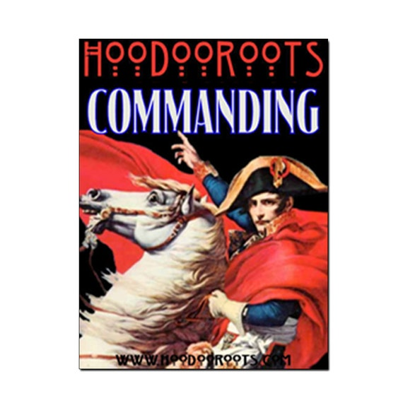 Commanding Oil - Hoodoo Oil - Ritual Oil - Anointing Oil - Candle Dressing - Hoodoo Voodoo - Hoodoo Roots - Spiritual Supplies, All Natural