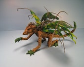 Made to Order Custom Fairy Monster Dragon, Tatterwing Faery (an example)