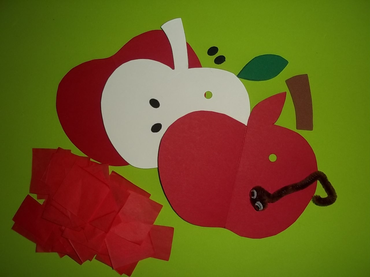 A Is For Apple Craft Kit