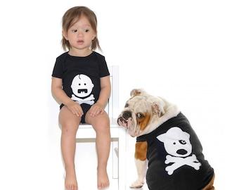 Secret Society - Baby Bodysuit & Dog T