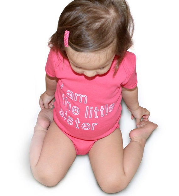Little Sister or Little Brother Bodysuit