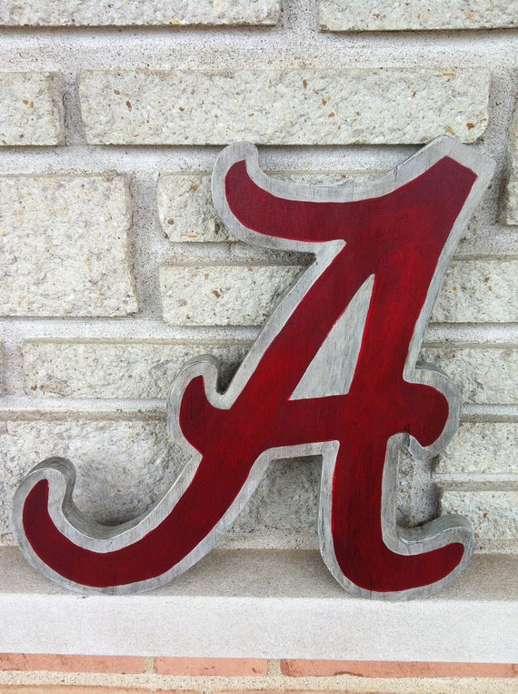 unavailable listing on etsy With wooden alabama a letter