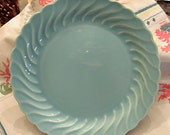 Vintage Royal China Swirl Dinner Plates