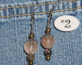 Earth Goddess- Quartz Earrings ET-RHQZ
