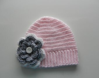 Infant Flower Hat
