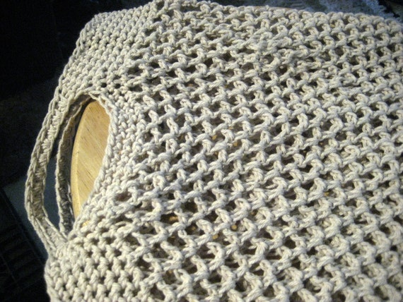 Crochet Mesh Bag Pattern : All Bags & Purses