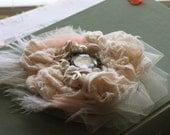fabric hair flower