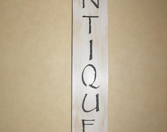 Wood Sign, Antiques