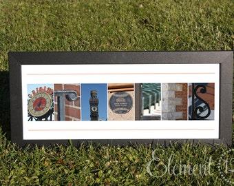 "Baltimore Orioles Alphabet Photo Art Print - Frame on your own 10""x20"""