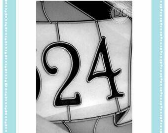 4x6 Number 24 Individual Print