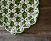 Vintage Crocheted Daisy Place Mats 1970's