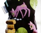 5x6 Waterproof Zippered Reusable Snack Bag