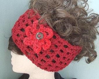 Instant Download PDF Crochet Pattern - Dreads Headband  SPP-19
