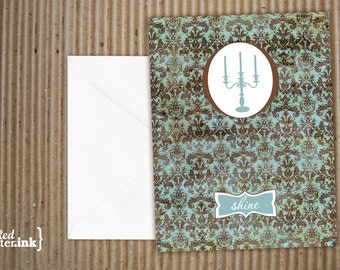 SHINE Vintage Blank Note Cards (8 pk.) - 4.25x5.5