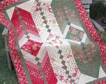 A New Twist - Layer Cake French Braid Quilt Pattern
