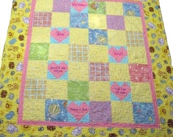 Bundle of Joy - Baby Quilt Pattern