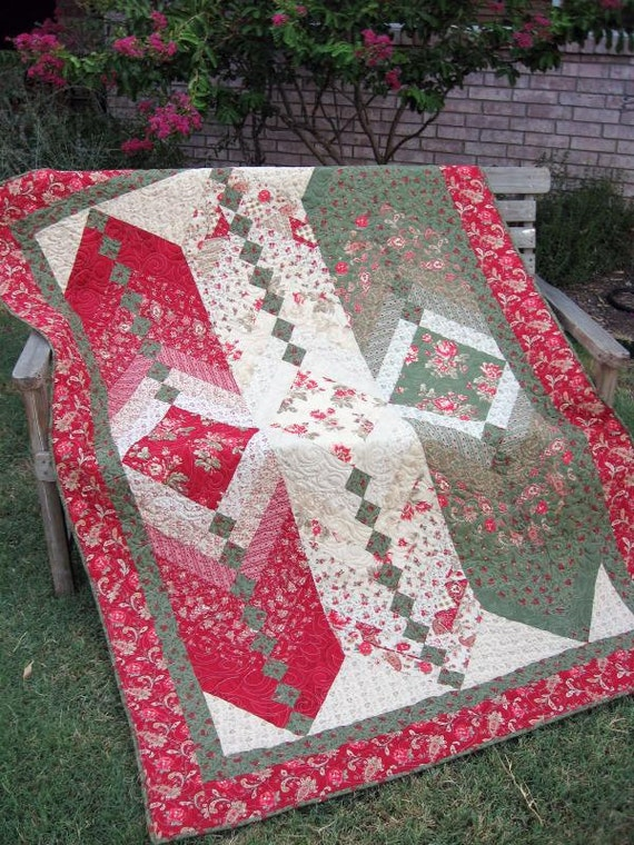 A New Twist Layer Cake French Braid Quilt Pattern