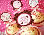 Sweet Treats Valentines Printable Collection-DIY