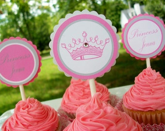 Princess Party Package DIY printable
